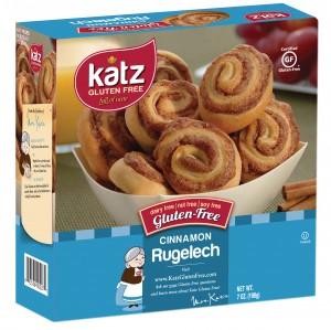 Katz Gluten Free Cinnamon Rugelach