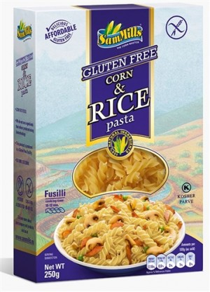 Sam Mills Pasta D'Oro Corn & Rice Pasta, Fusilli, 8 Oz Box (6 Count)