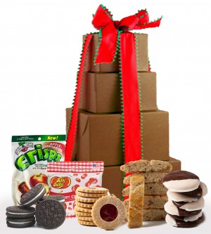 Sweet & Merry Holiday Gift Tower - Super Sized!