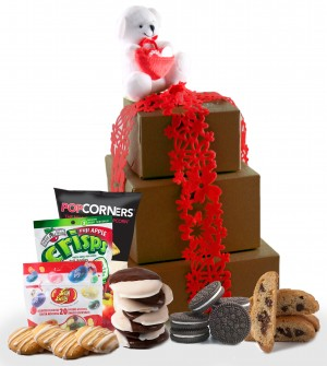I Love You, Mom! Gluten Free Gift Tower