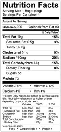 udi's whole grain bagels nutrition