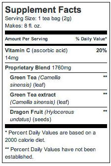 celestial seasoning anti max green tea melon