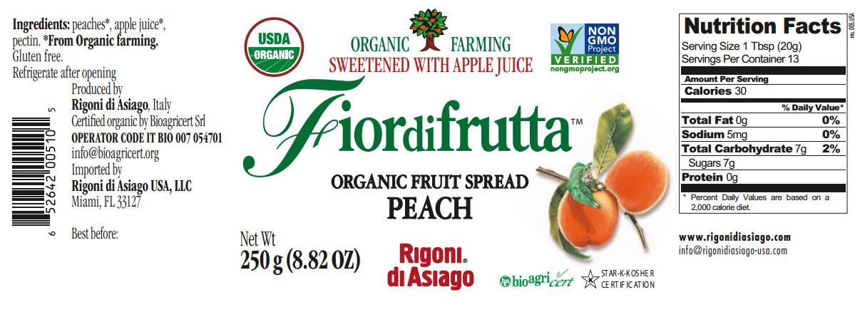 fiordifrutta peach nutrition