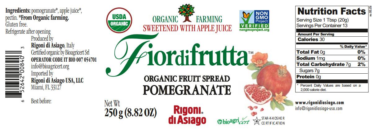fiordifrutta pomegranate nutrition