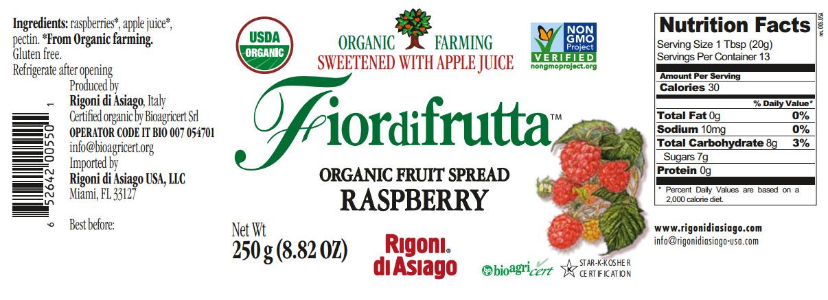 fiordifrutta raspberry nutrition