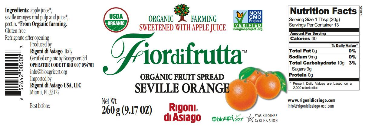 fiordifrutta seville orange nutrition