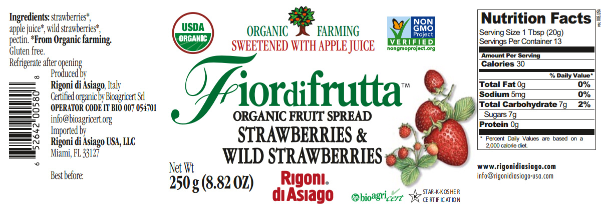 fiordifrutta strawberry nutrittion