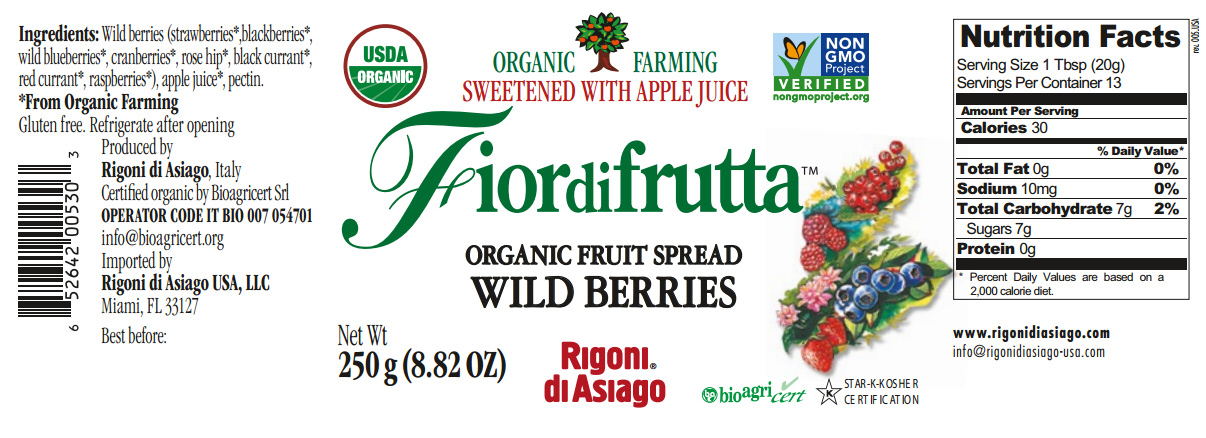fiordifrutta wild berries nutrition