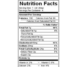 katz round oat challah nutrition