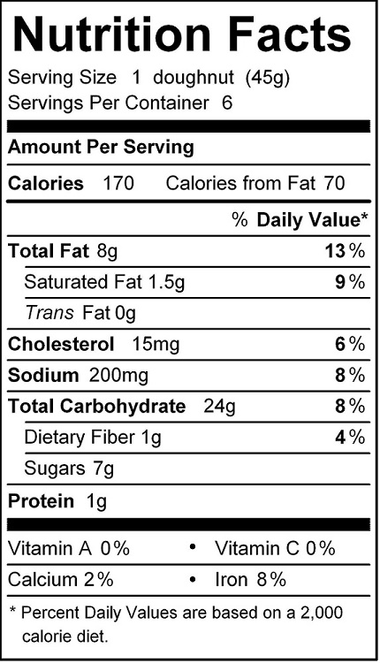 katz chocolate frosted cupcake nutrition