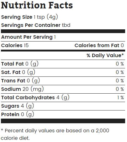wholesome sweetener organic sucanat nutrition