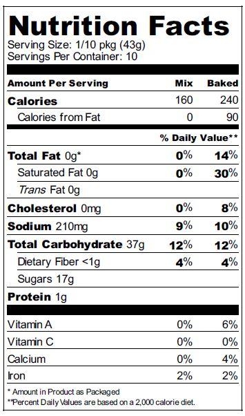 zuvii vanilla nutrition