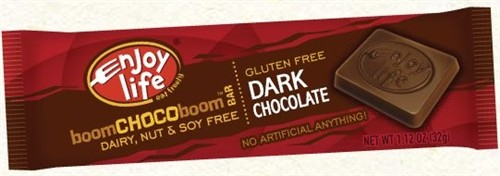 Enjoy Life Gluten Free Dark Chocolate Bar, 1.12 Oz (24 Pack)