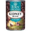 Eden Organic Kidney Beans (Dark Red)