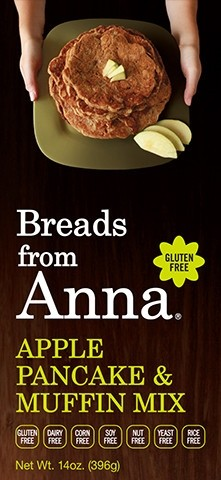 Breads From Anna GF Apple Pancake & Muffin Mix (6 Pack)