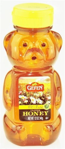 Gefen Honey, 12 Oz Honey Bear (Case of 12)
