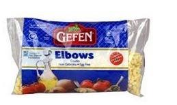 Gefen Gluten Free Elbow Noodles - 9 Oz. Each (Case of 12)