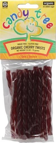 Candy Tree Organic Cherry Twists (12 Pack)