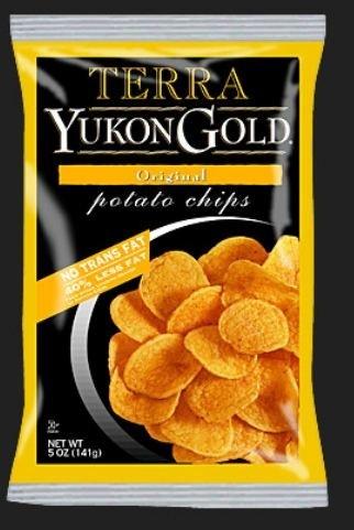Terra Chips, Yukon Gold Potato Chips