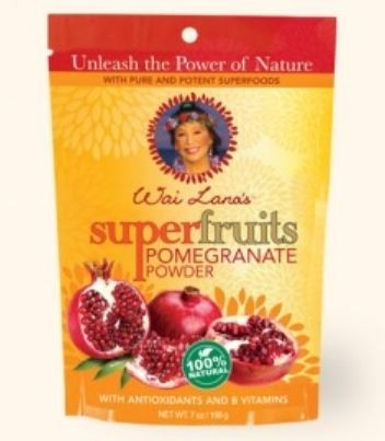 Wai Lana Dietary Supplements, Super Fruits Pomegranate Powder