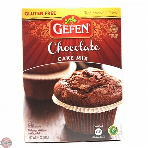 Gefen Gluten Free Chocolate Cake Mix, 14 Oz (Case of 12)