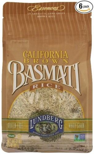 Lundberg California Brown Basmati Rice