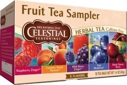 Celestial Seasonings Fruit Tea Sampler