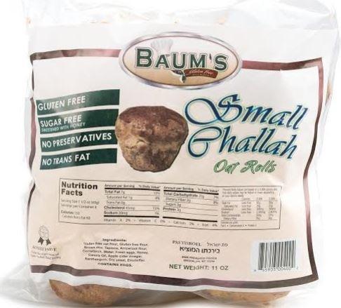 Baum's Gluten Free Small Challah, 11 Oz. (Case of 6)