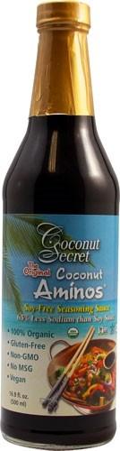 Raw Coconut Aminow Soy Free Seasoning Sauce, 16.9 oz