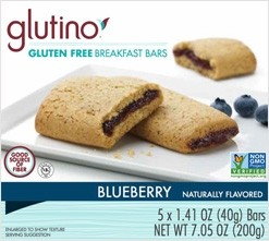 Gluten Free Blueberry Breakfast Bars