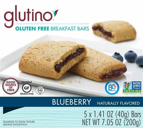 Gluten Free Blueberry Breakfast Bars [Case of 6]