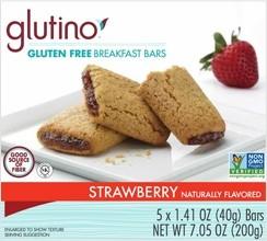 Gluten Free Strawberry Breakfast Bars
