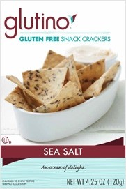 Glutino Snack Crackers, Sea Salt