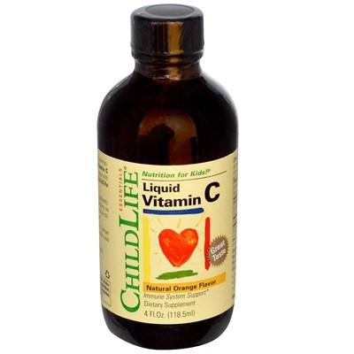 Childlife Liquid Vitamin C, Orange