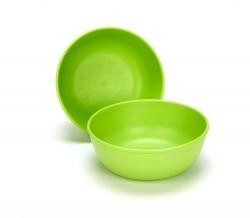 Green Toys Bowls, Green, (2 Pack)