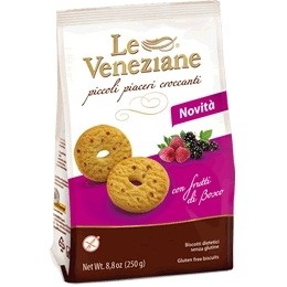 Le Veneziane GF Cookies With Berries (15 Pack)