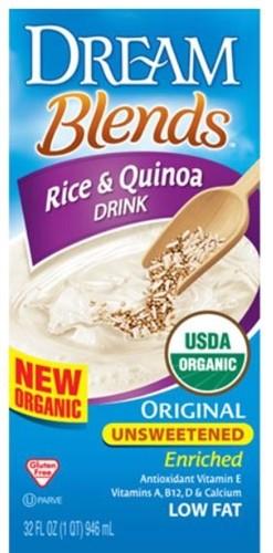 Dream Blends, Enriched Rice & Quinoa Original Unsweetened