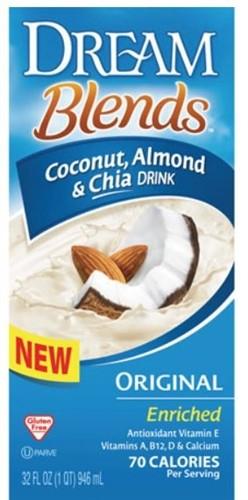 Dream Blends, Enriched Coconut Almond & Chia Original