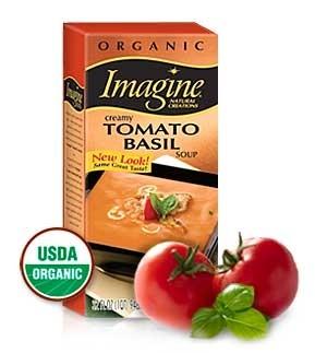 Imagine Organic Creamy Tomato Basil Soup