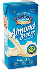 Almond Breeze, Vanilla, 32 Oz