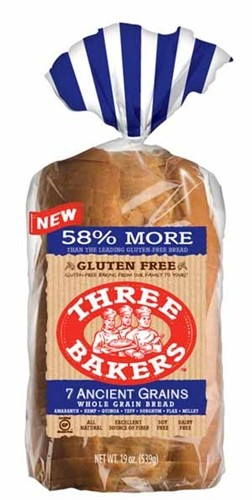 Three Bakers, 7 Ancient Grain Sliced Bread