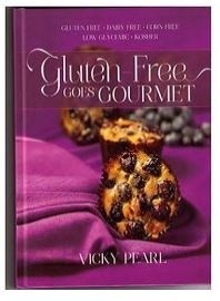 Gluten Free Goes Gourmet - Cookbook  by Vicky Pearl