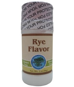 Authentic Foods Rye Flavor, 2 Ounce