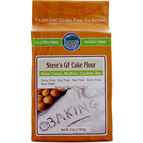 Authentic Foods Steve's Gluten Free Cake Flour Blend 3 lbs
