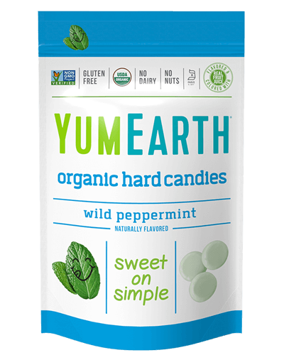 Yummy Earth Organic Candy Pouch, Peppermint Drops