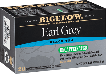 Bigelow Tea, Earl Grey, Decaf