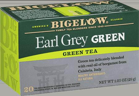 Bigelow Tea, Earl Grey Green Tea