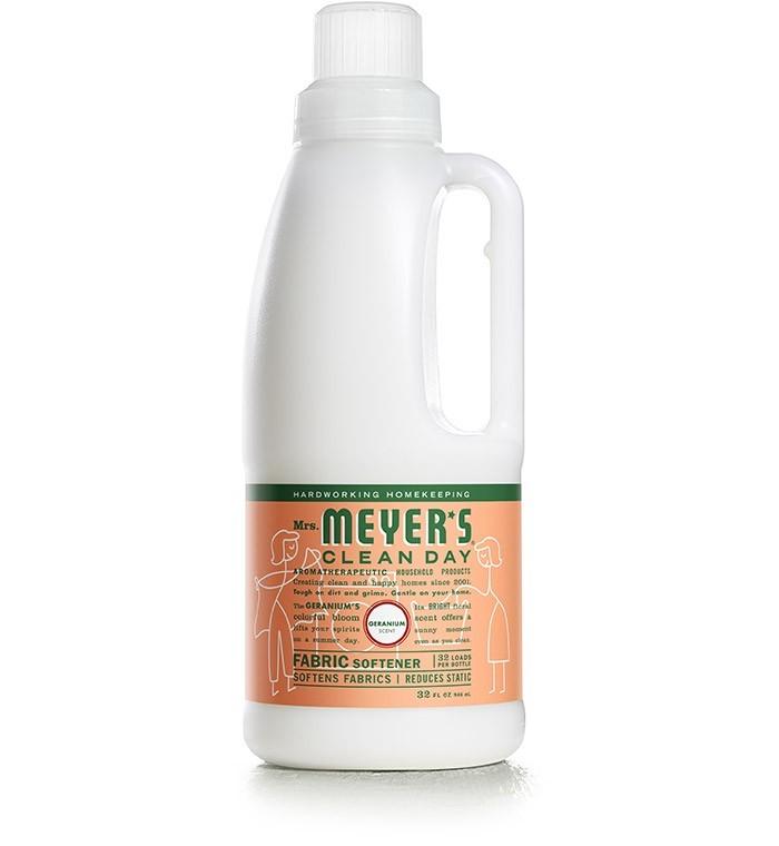 Mrs. Meyer's Clean Day Fabric Softener, Geranium, 32 Oz