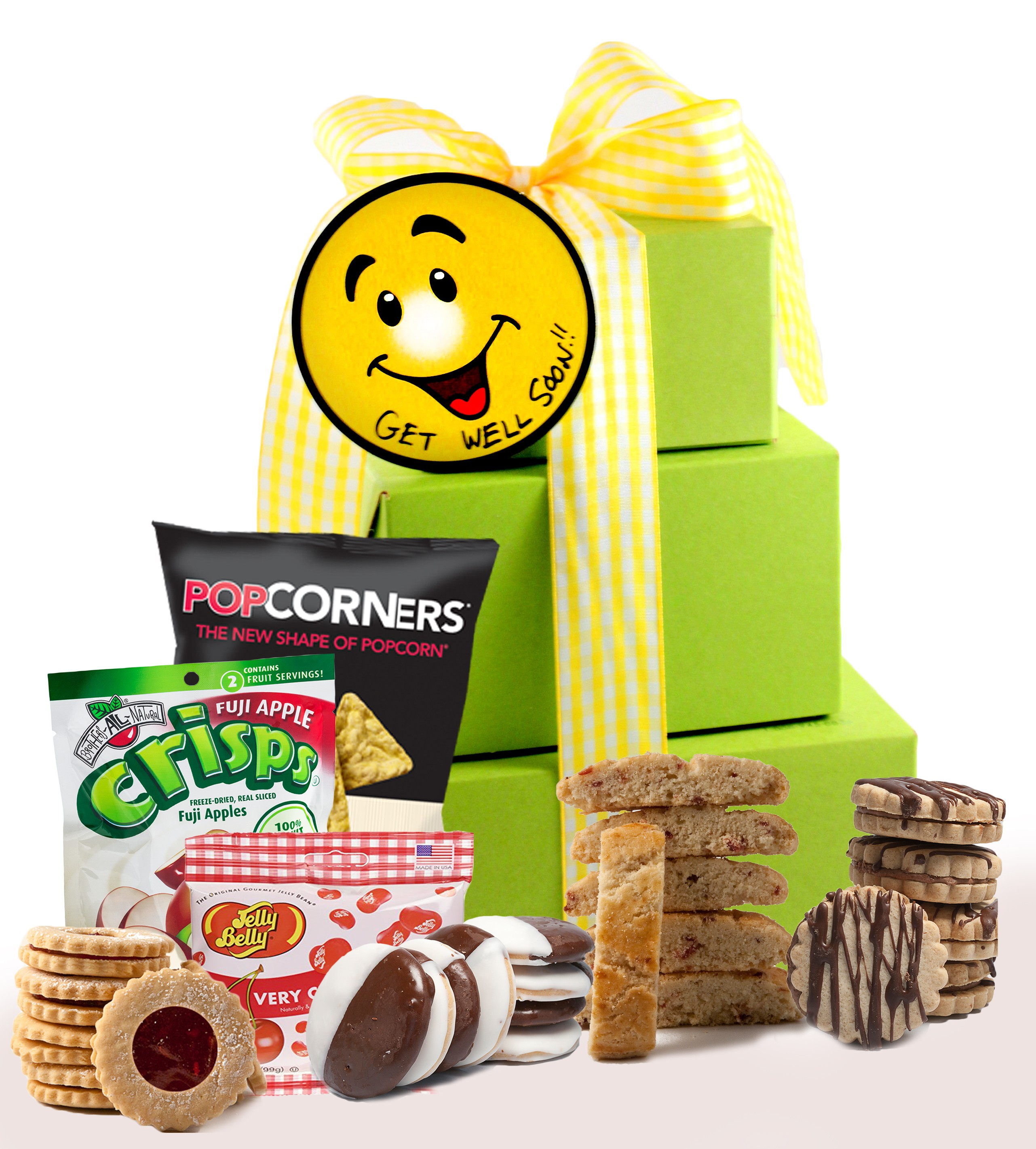 Buy gluten free get well gift tower at glutenfreepalace get well gift tower negle Choice Image