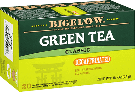 Bigelow Tea, Green Tea, Decaf